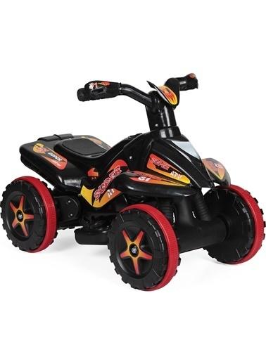 Morhipo kitap UJ Toys 6V Akülü ATV - Siyah Renkli